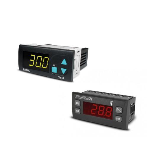Temperaturanzeigen für PT100, Typ K, Typ J