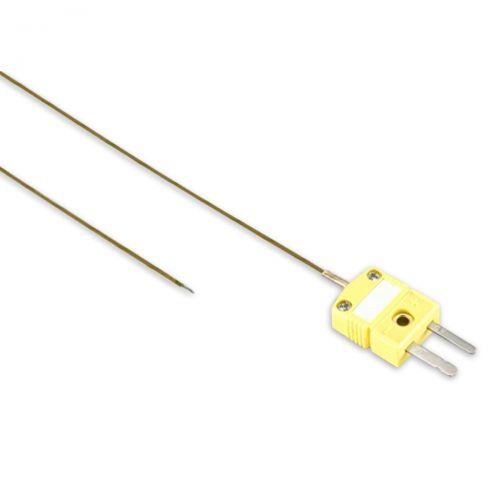 Drahtthermoelement NiCr-Ni mit TE Ministecker bis 315°C - Kaptonisoliert