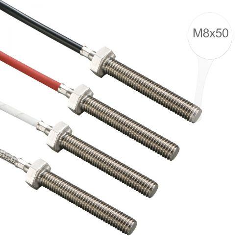 Einschraubtemperaturfühler mit M8x50 Gewinde