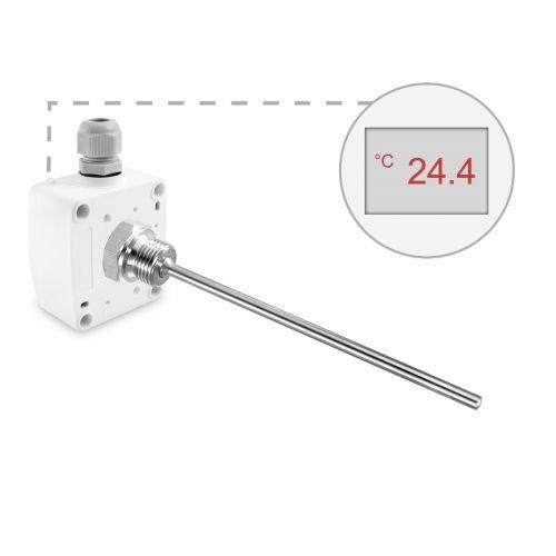 Einschraubtemperaturfühler (0‑10V/4‑20mA)