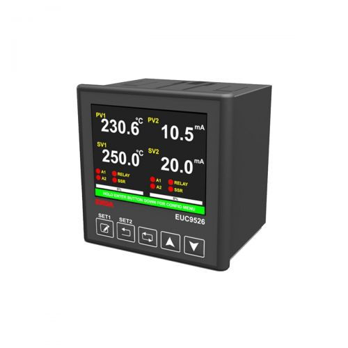 Universalregler für PT100, NTC, mA, mV, V, Ohm