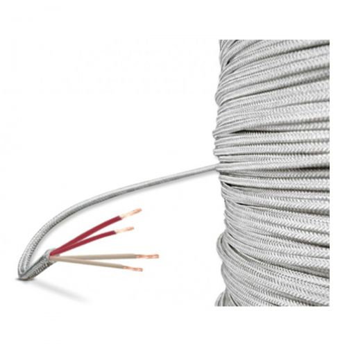 Glasseide-Leitung - 4-Leiter (-60°C...+400°C)