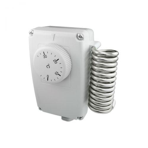 Industrieraumthermostat mit Ausseneinstellung