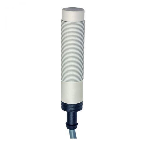 Kapazitiver M18-Näherungssensor mit 2m Anschlusskabel - ungeschirmt - Schaltabstand 12mm