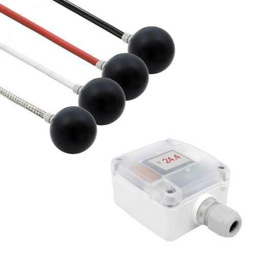 Messumformer mit Strahlungsfühler (0‑10V/4‑20mA)
