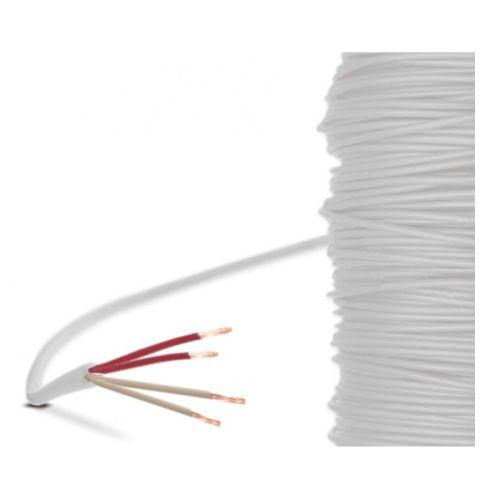 PTFE-Leitung - 4-Leiter, geschirmt (-190°C...+260°C)