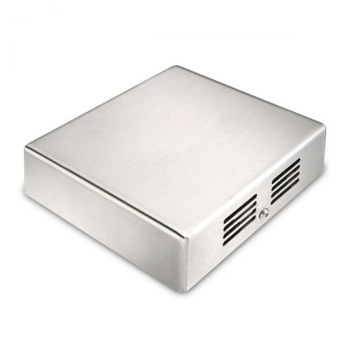 Raumtemperaturfühler im Edelstahlgehäuse