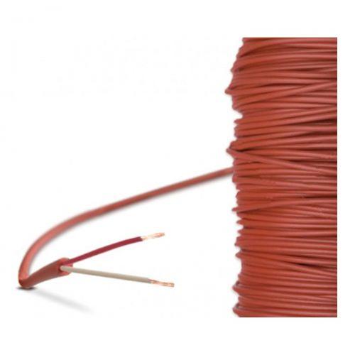 Silikon-Leitung - 2-Leiter (-60°C...+180°C)