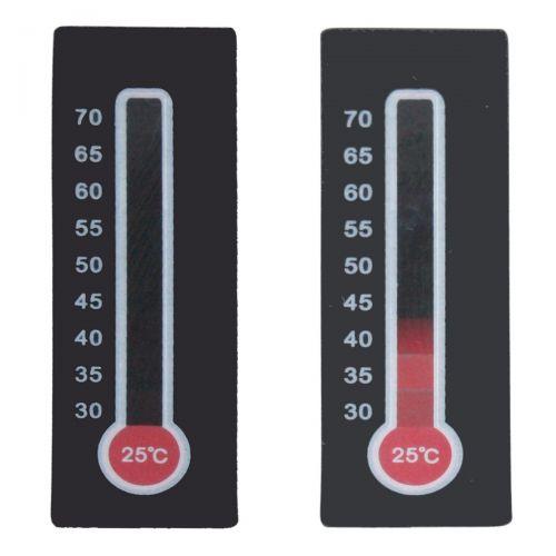 Temperaturmessstreifen,  reversibel (mehrmalige Verwendung), 10 Stück je Packung
