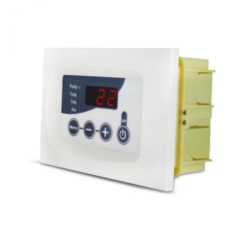 Temperatur-Differenzregler für Biomasse