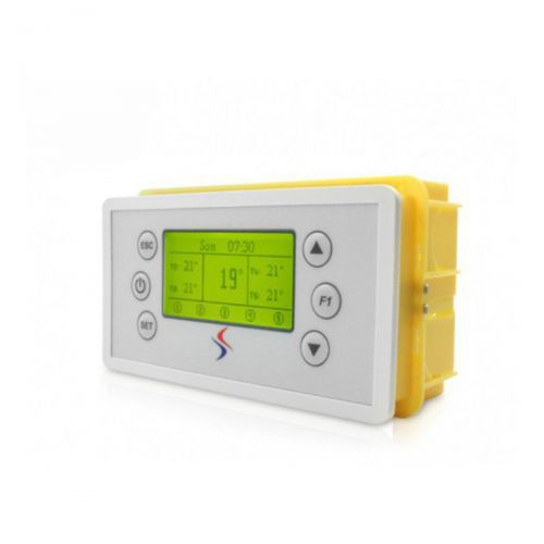 Temperatursteuerung mit 5 Eingängen und 5 Relais