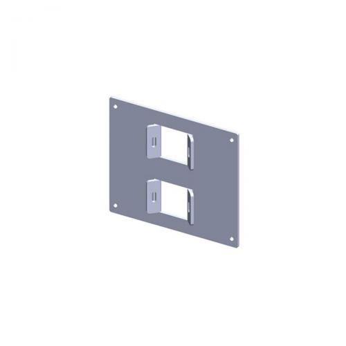 ALU-Montageplatte für Wandreglerserie