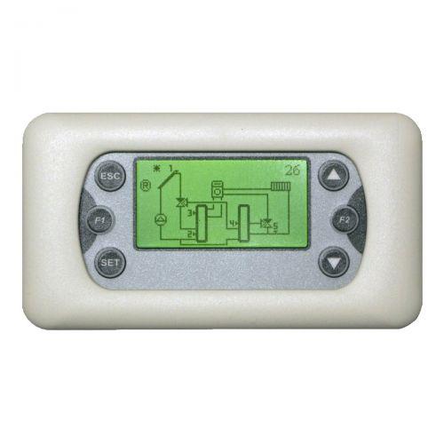 Temperatur-Differenzregler für Solaranlagensteuerung