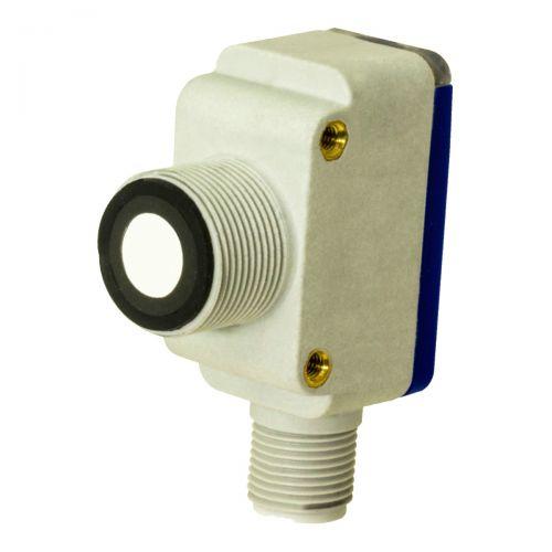 Ultraschallsensor mit M12 Steckverbindung und Regulierung durch Teach-In-Knopf - 4-20mA - Schaltabstand 300mm